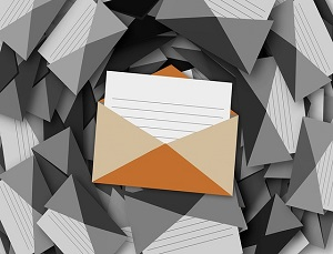 envelope: email writing